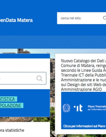 OpenData MATERA RELOADED