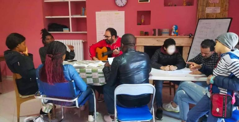 Ritorno in Basilicata per accogliere i rifugiati