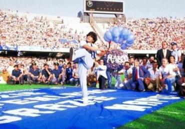 Si yo fuera Maradona mi vida serìa una pelota