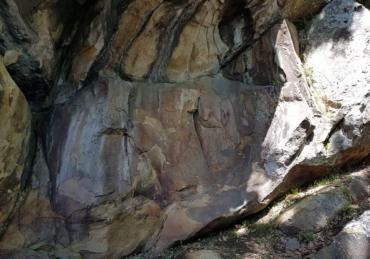 Il Cervo antico, le pitture rupestri di Tuppo dei Sassi