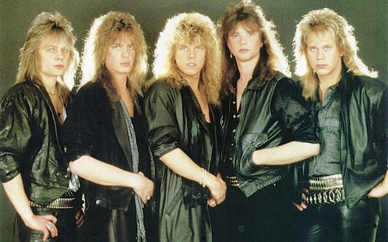 1986: gli Europe e i preservativi.
