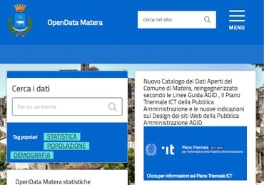 OpenData MATERA RELOADED