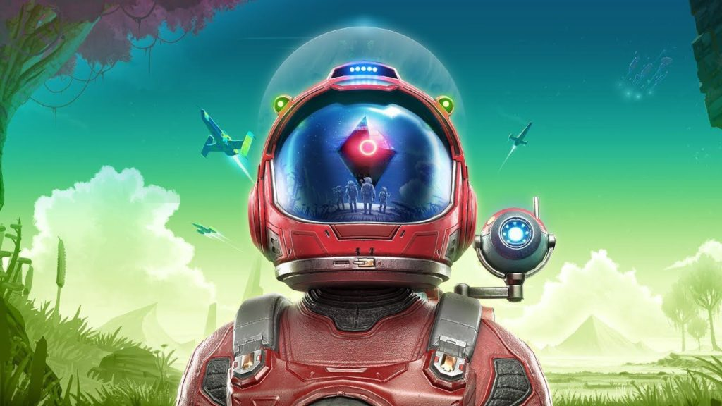 Box art di No Man's Sky Beyond